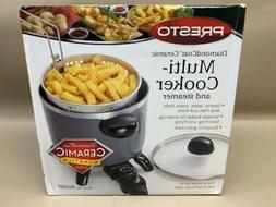 Presto 06007 Options Electric Multi-Cooker/Steamer,New Versa