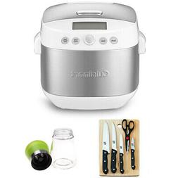 Cuisinart - 2.5qt Rice and Grain Multicooker - Brushed Stain