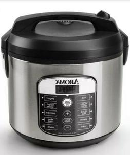 Aroma 20 Cup Digital Multicooker Rice Cooker - Stainless Ste