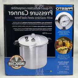 Presto 23 Quart Pressure Canner / Cooker 01784 Induction Sta