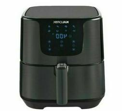 Kalorik 5.25 Quart XL Digital Black Stainless Steel Air Frye