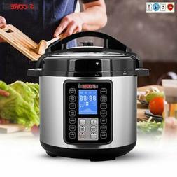 Electric Pressure Cooker Digital Insta Pot Programmable 6QT
