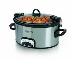 Crock-Pot SCCPVL605-S 6-Quart Programmable Cook & Carry Oval