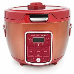 ARC-1230R RICE COOKER/MULTICOOKER, 20 Cup Cooked, Red Kitche
