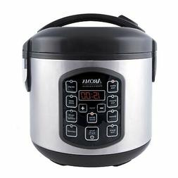 Aroma ARC-954SBD Digital Rice Cooker, Stainless Steel