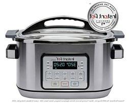 Instant Pot Aura Pro 11-in-1 Multicooker Slow Cooker 8 Qt, 1