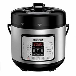 COSORI C2126-PC Cook & Carry Digital Slow Cooker with Heat-S