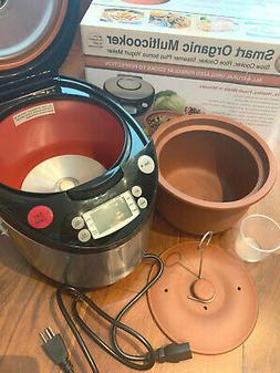 Cooker Clay Pot Steamer 4X Faster Multi Cooker Non Stick No