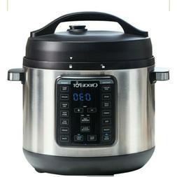 Crock - Pot Express - 8qt Digital Multi Cooker - Stainless S