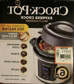 Crock-Pot Express Multi-Cooker 6-Quart - preasure cooker