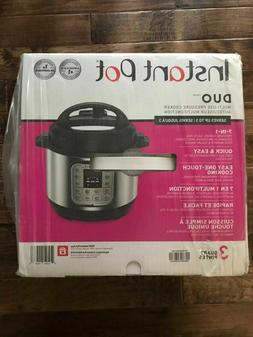 Instant Pot Duo  3-Quart, 7-in-1 Programmable Multi-Cooker