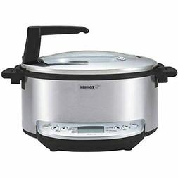 EL-CAC60XZ Multicooker, Qts, Brushed Stainless Kitchen &amp
