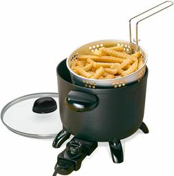 Electric Deep Fryer Home Restaurant Kitchen Kettle Multi Coo