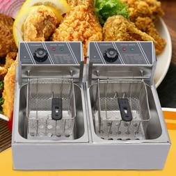 Electric Deep Fryer Home Restaurant Kitchen Multi Cooker Cou