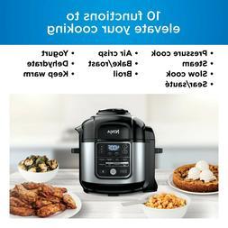 Ninja Foodi 8-qt. 10-in-1 Deluxe XL Pressure Cooker & Air Fr