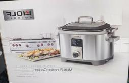 WOLF Gourmet WGS110S Multi Function Cooker - Slow Cook New I