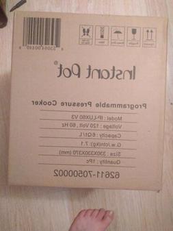 Instant Pot IPLUX60V3 6Qt. 6-in-1 Electric Pressure Cooker n