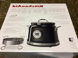 Kitchen Aid Multi-Cooker With Stir Tower-Black