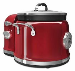 KitchenAid KMC4244CA Candy Apple Multi-Cooker with Stir Towe