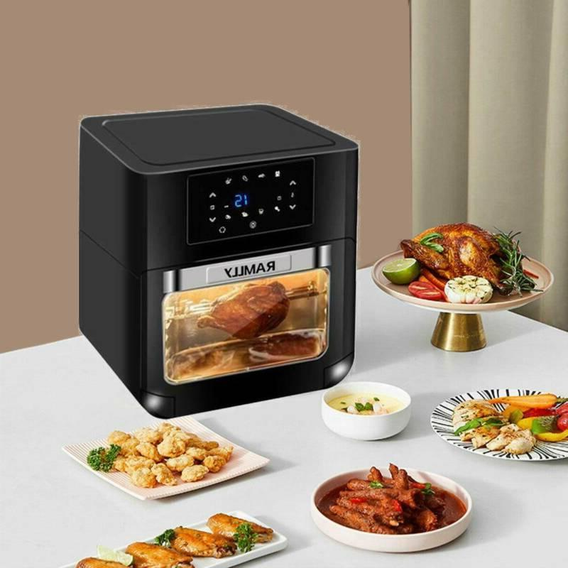 Digital Fryer Convection Oven 1700W 8 1 Home 6