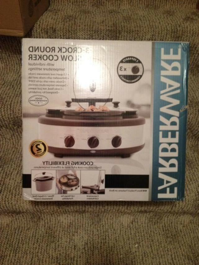 104559 3 crock round slow cooker 1
