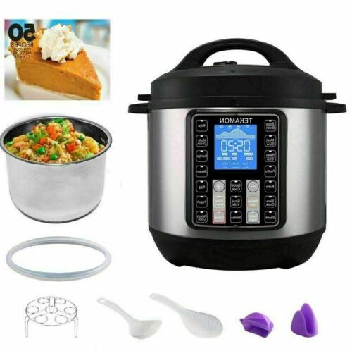 11-in-1 Multi-Use Instant Pot Black Stainless Pressure,