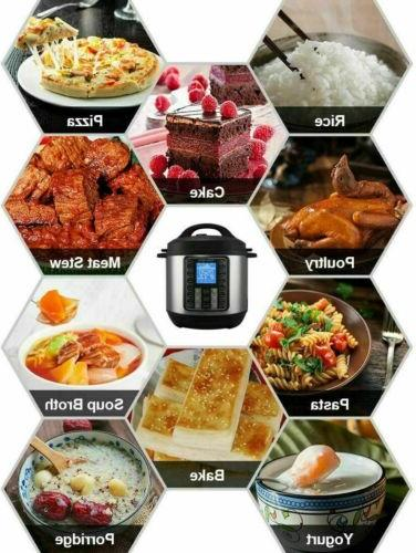 11-in-1 Multi-Use Pot Black Pressure, Rice Cooker