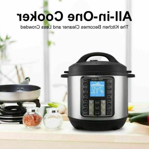11-in-1 Multi-Use Black Pressure, Rice