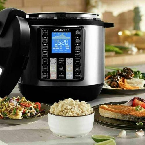11-in-1 Black Stainless Pressure, Rice