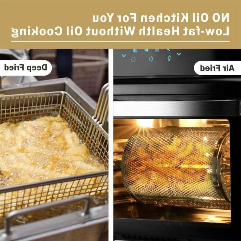 Large Fryer XXL 1700W 14 Oven Digital Air Fryer
