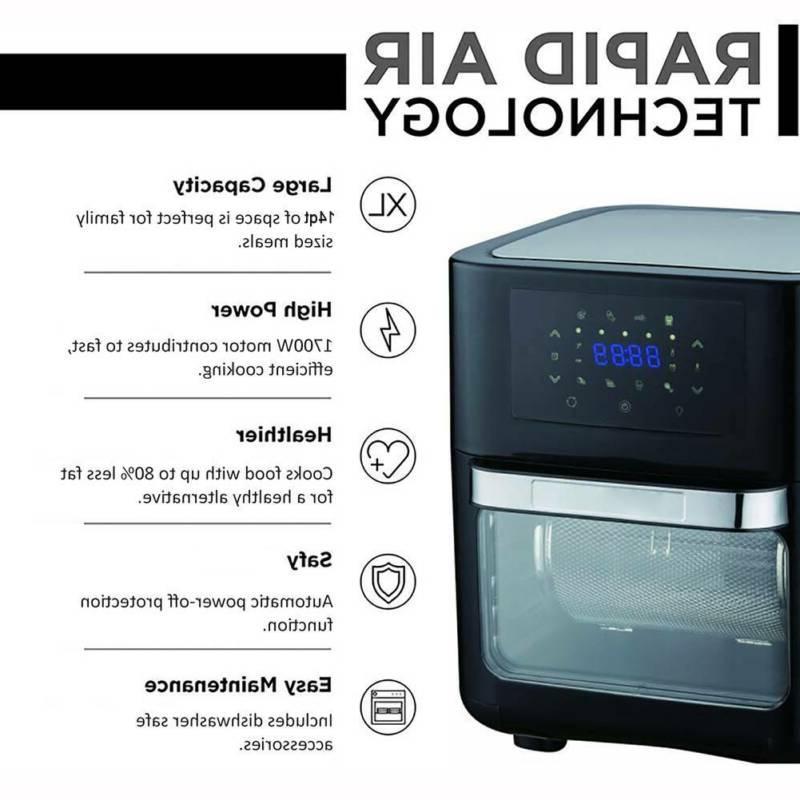 14 Air Fryer Oven 1700W Oven Dehydrator Oven