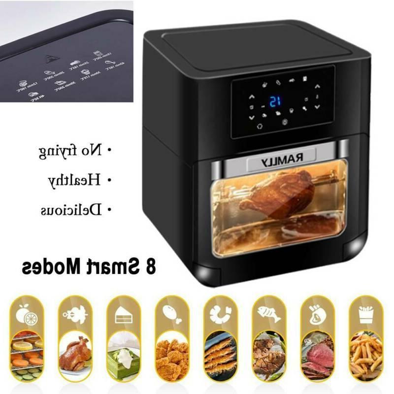 Large Air 1700W 14 QT Oven Digital Air Fryer Cooker