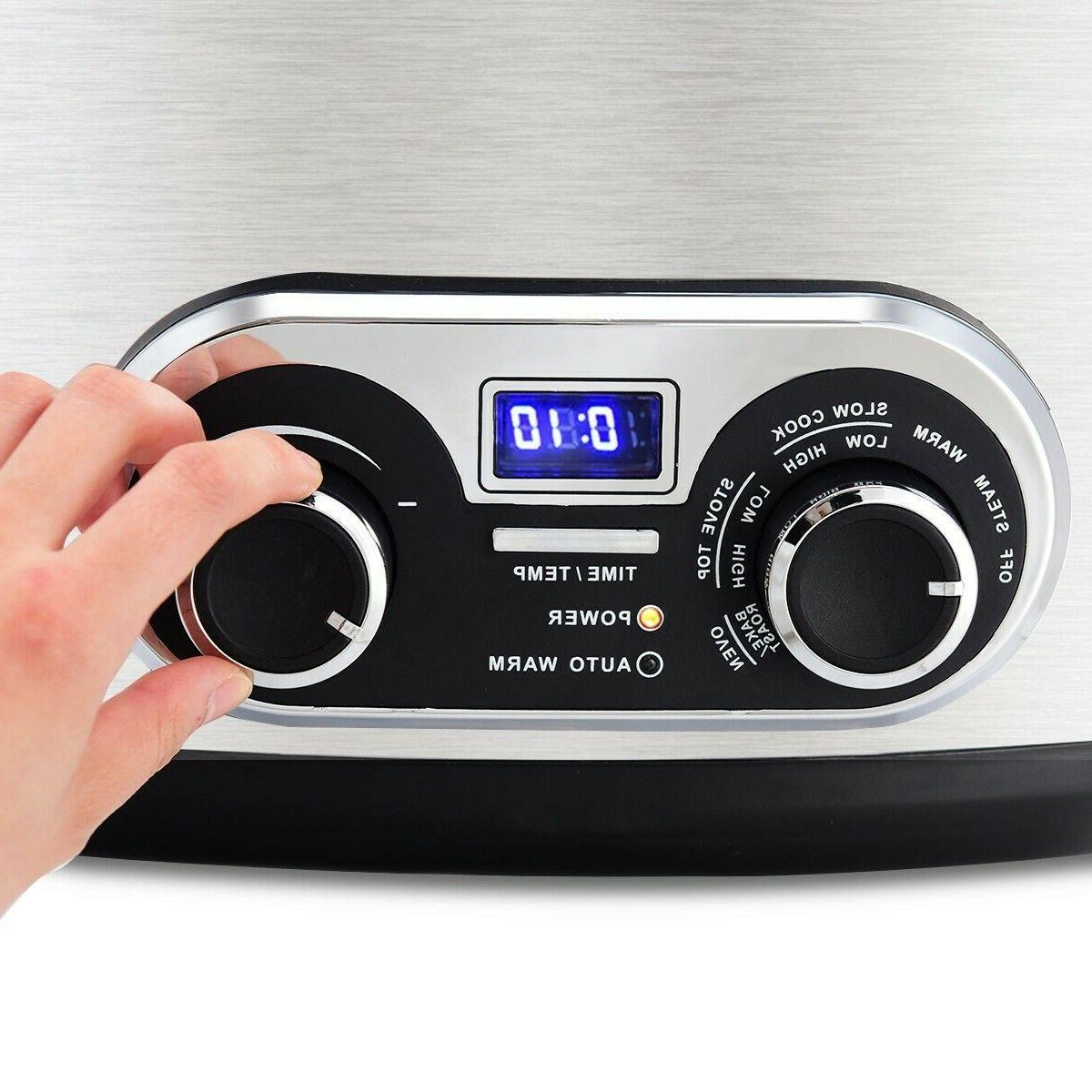 4-in-1 6 Multi Cooker SHIPPING*