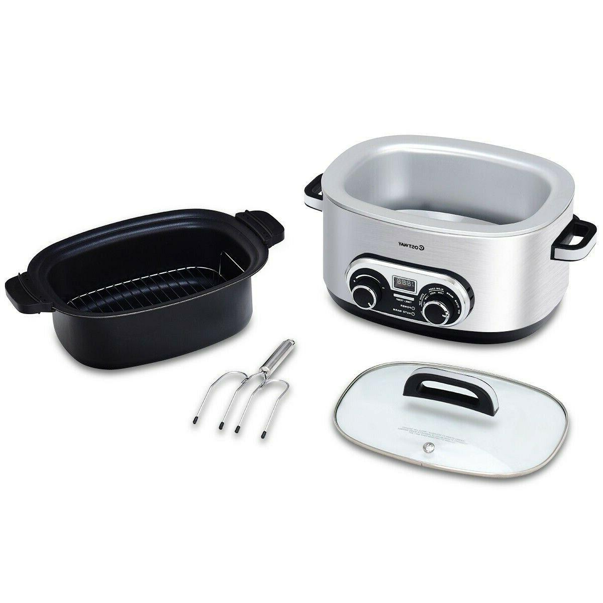 4-in-1 6 Quart Stainless Multi FREE SHIPPING*