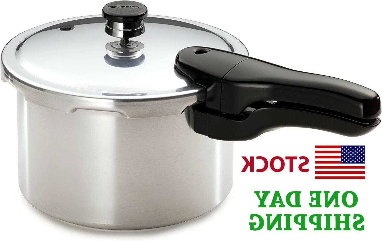 4 quart aluminum pressure cooker olla a