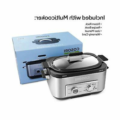 COSORI 6 Programmable Multi-Cooker Pot, Cooker,