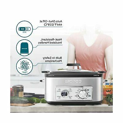 COSORI 11-in-1 Programmable Multi-Cooker Pot, Cooker,