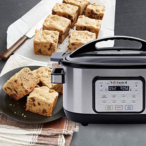 Instant Pot Aura Programmable Multicooker, Silver