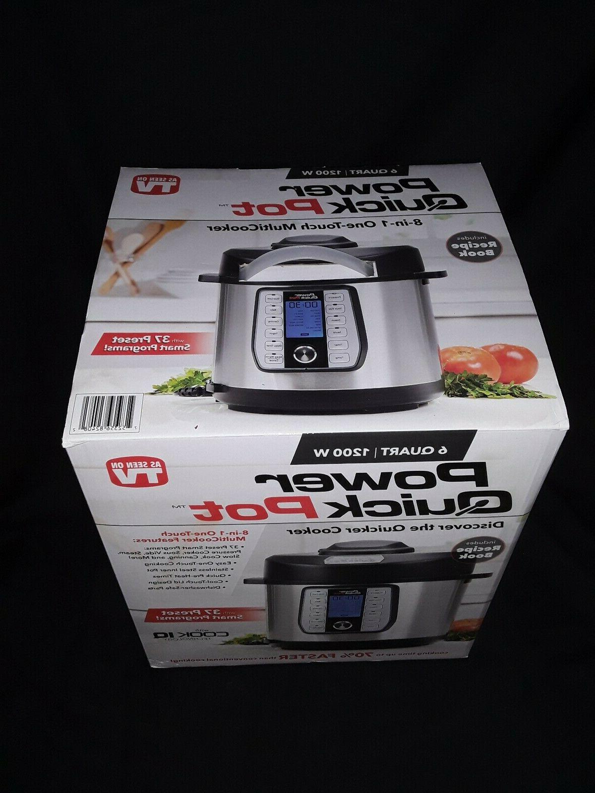 POWER Quart One Touch Multi Cooker Features