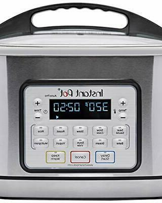 Instant Aura Pro 11-in-1 Cooker 8 Qt One-Touch Programs