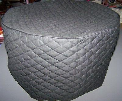black quilted fabric cover for actifry multi