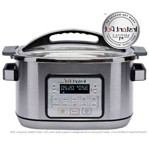 BRAND NEW Instant 11-in-1 Multicooker -Slow Cooker, 1500 Watts