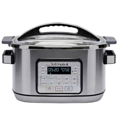 BRAND NEW Instant Aura 11-in-1 Multicooker Cooker, 1500 Watts