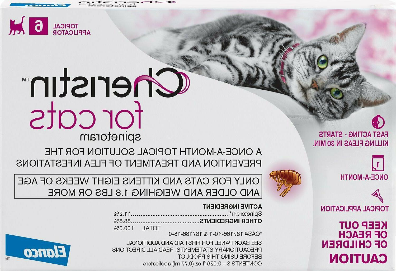 cats pack flea treatment topical