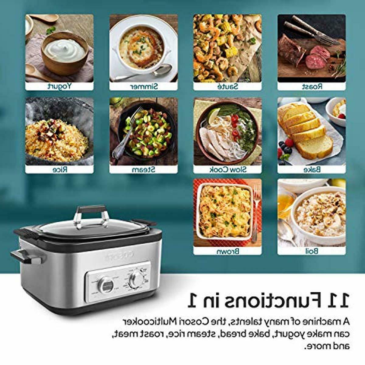 COSORI 6 Qt Programmable Pot, Cooker,