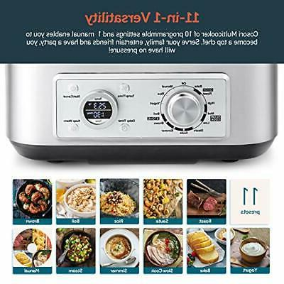 COSORI Slow 11-in-1 Programmable Multi-Cooker