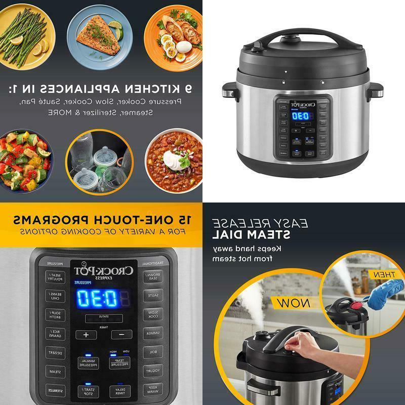 crock pot 2097588 10 qt express crock