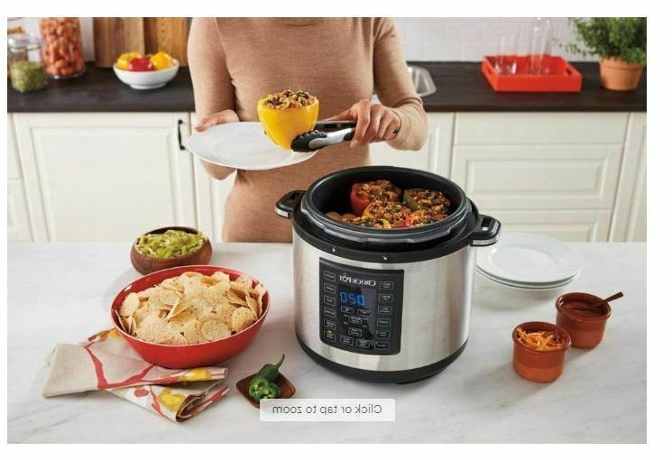 Crock-Pot 6-Quart Multi-Cooker - Stainless Steel