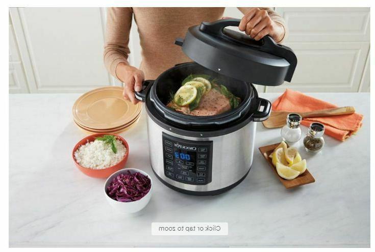 Crock-Pot 6-Quart Multi-Cooker Steel