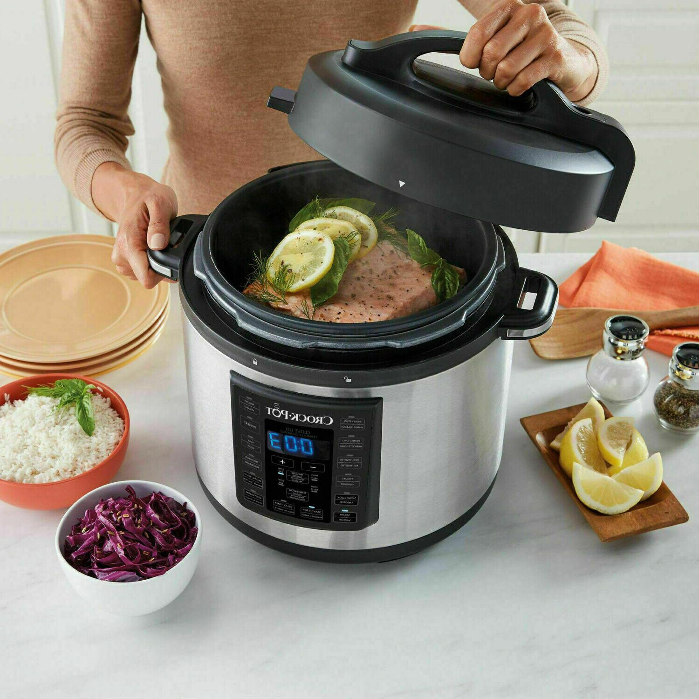 Crock-Pot Multi Cooker Steel